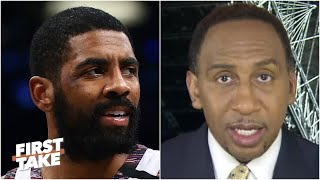 Stephen A. is disappointed in Kyrie Irving's perceived shot at LeBron