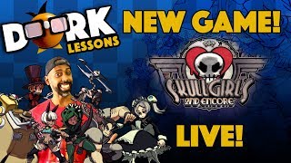 NEW Fighting Game: Skull Girls Exploration,Testing, and Dorking It Out!