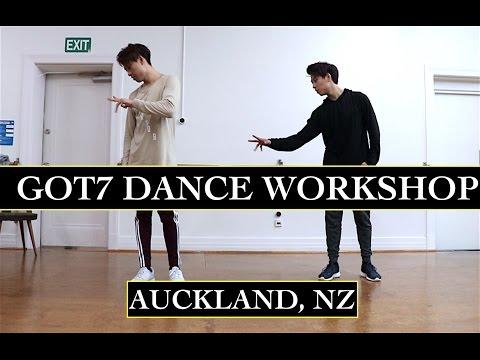GOT7 - Never Ever International Dance Workshop (Auckland, NZ)