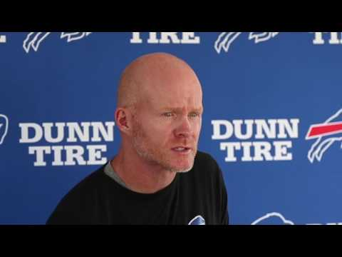 Buffalo Bills Coach Sean McDermott press conference on Day Five of training camp