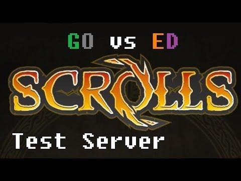 Morre Vs Xlson - Test Server Spectator Mode! - Scrolls (Mojang) New Preconstructed Decks