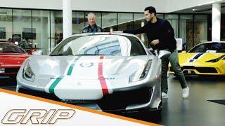 Hamid sucht limitierten Ferrari I GRIP