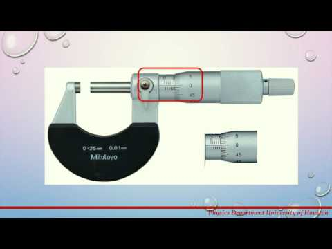 How to Read Metric Micrometer