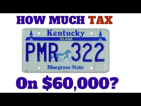 How Much Tax Will You Pay In Kentucky on $60,000?