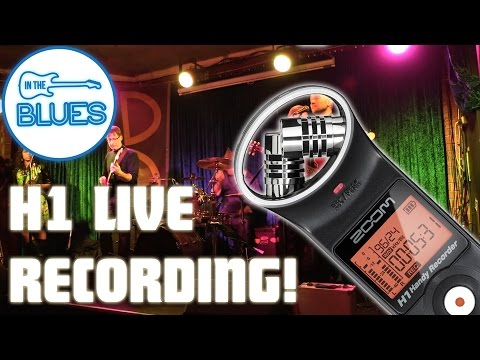 Zoom H1 Handy Recorder Band Recording Sample