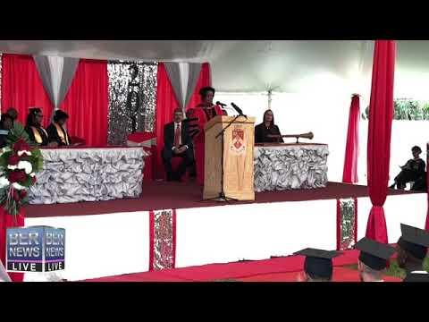 Part I, Bermuda College Graduation, May 16 2019