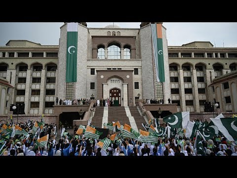 Tens of thousands of Pakistanis hold 'Kashmir Hour' solidarity demonstrations