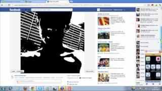 Como excluir uma foto do album do perfil do Facebook 2012 (Linha do Tempo)