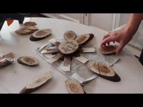 Creative Crafts DIY wood Flower