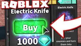 KAUFEN ELECTRIC KNIFE (Roblox Murder Mystery 2)
