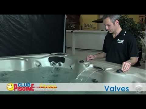 Quoi servent les valves sur mon spa youtube for Club piscine terrebonne liquidation