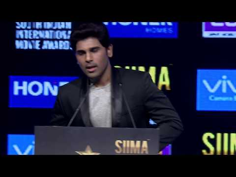 Allu Sirish at SIIMA 2017 Hyderabad Press Conference