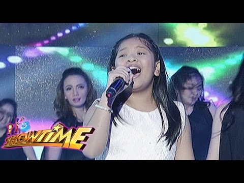 It's Showtime: Elha Nympha sings on It's Showtime