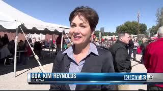 Gov. Kim Reynolds visits Winnebago