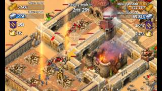 AoE: Castle Siege PvP - Henry Hero attack tower