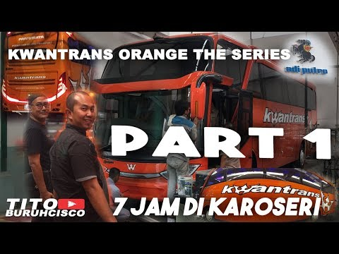 twist and turn when buy a new bus at adiputro caroseries | PART 1