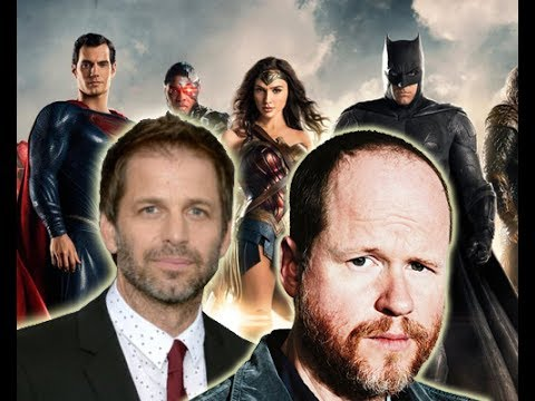 JOSS WHEADON AND ZACK SNYDER HELPS TO BRING US JUSTICE LEAGUE