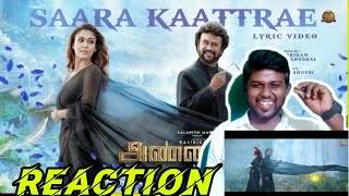 Saara Kaatrae -Lyric Video Reaction | Annaatthe | Rajinikanth | Imman|Sid Sriram | Shreya Ghoshal