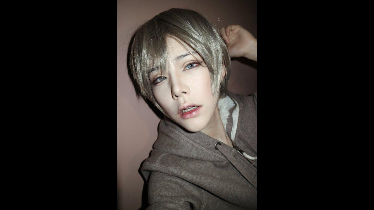Basic anime male makeup for cosplay & lolita - YouTube