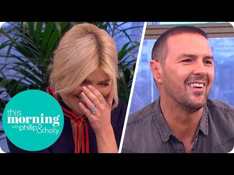 Holly and Phillip Left Creasing at Paddy McGuinness Massaging a Tikka Masala Breast! | This Morning