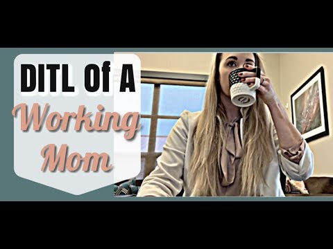 REAL DAY IN THE LIFE OF A WORKING MOM | WORK LIFE BALANCE