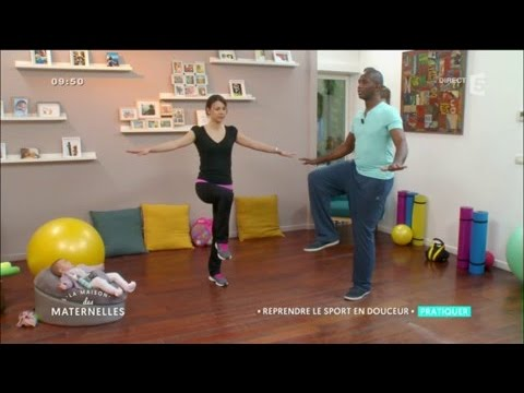 Reprendre le sport en douceur après l'accouchement - La Maison des Maternelles - France 5