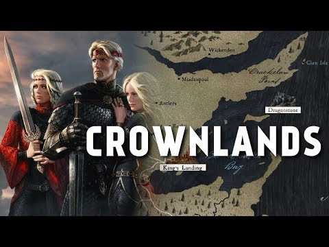 the Crownlands - Map Detailed (Game of Thrones)