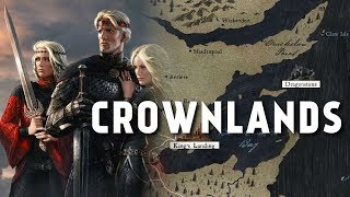 the Crownlands - Map Detailed Game of Thrones