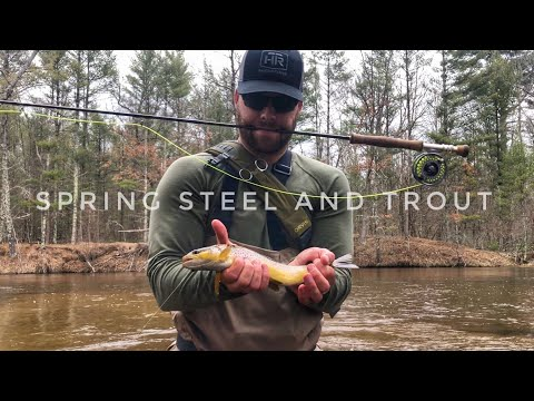 Spring Steelhead And Trout Fishing In Michigan! Day 2