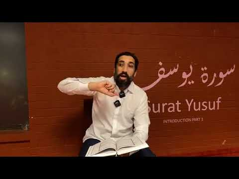 Surah Yusuf: Introduction Part I