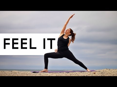 Glowing Yoga Body Workout For Hips (Where You Stuff Your EMOTIONS!)