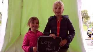 Lizzy & Marit in de schijnwerpers op Cinekid