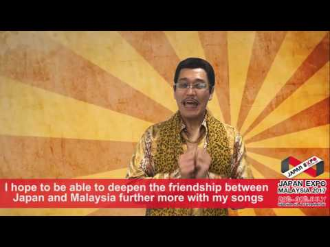"Greeting VTR ""PIKOTARO"" (PPAP ) for Japanese Expo Malaysia 2017"
