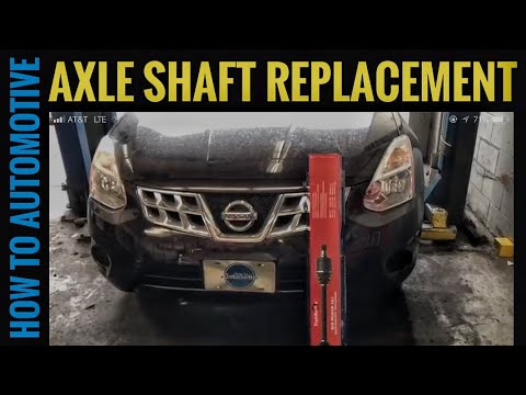 How to Replace the Right Front Axle on a 2007-2013 Nissan Rogue