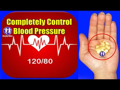 Completely Control high Blood Pressure Only Table spoon will unclog Arteries Without Any Medicine