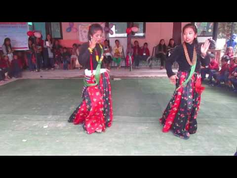 Purba paschim rel dance by TRCS students.