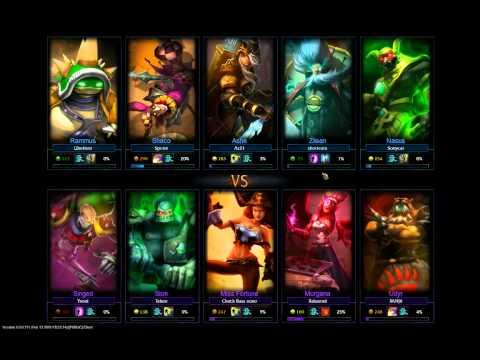 League of Legends - Morgana pt1 - HotShotGG