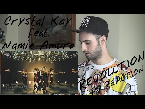 Crystal Kay feat. 安室奈美恵: REVOLUTION | PV REACTION | Sukowe GAL Revolog