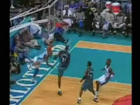 kevin garnett house baron davis the best dunk in nba history hq youtube