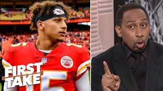 Stephen A.: Patrick Mahomes' mobility is key to beating Patriots  | First Take