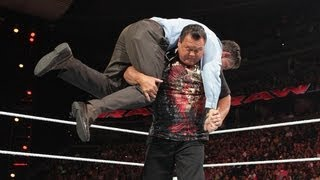 Jerry Lawler vs. Michael Cole: Raw, July 9, 2012