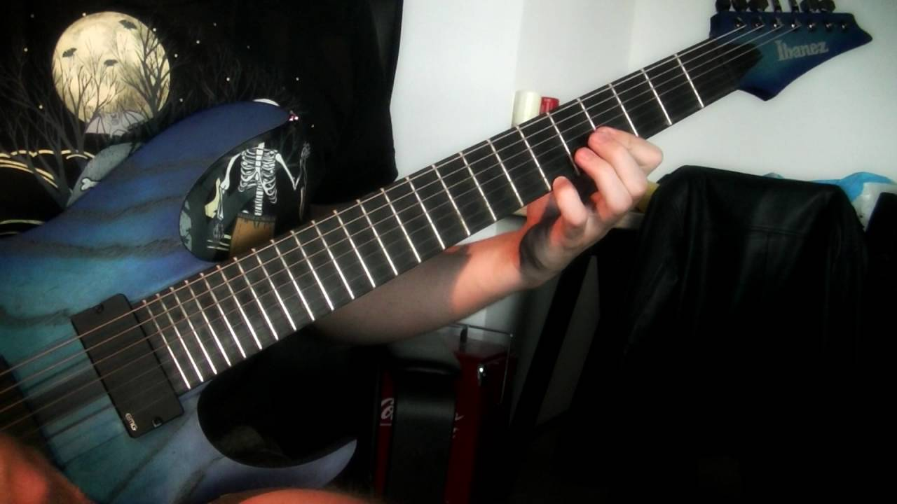 Animals As Leaders Cafo Guitar Cover Youtube