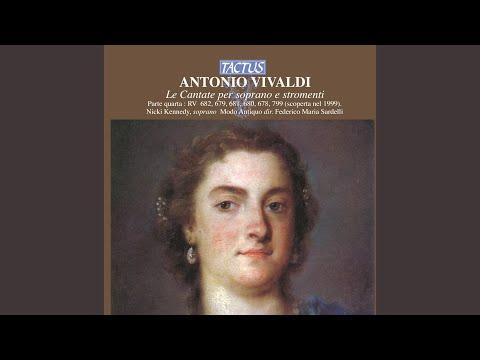 Lungi Dal Vago Volto, Rv 680: Recitative: Allegrezzamiocore