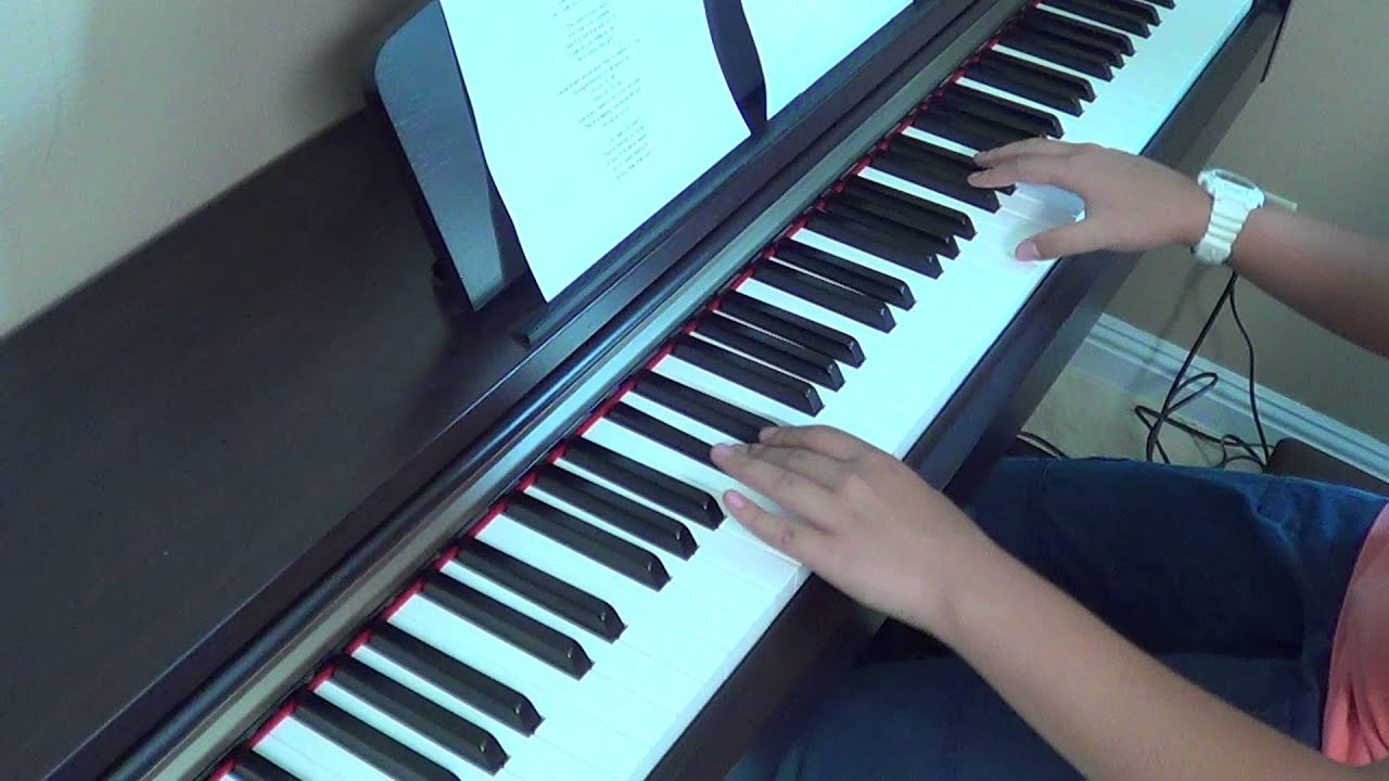 He Is We ft. Owl City - All About Us piano cover and lyrics by Betty Nguyen