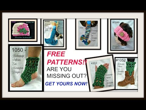 FREE PATTERNS ON MY BLOG, are you missing out, free crochet and knitting patterns