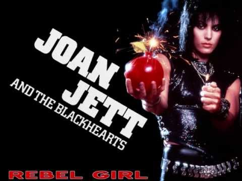 JOAN JETT - Rebel Girl (+Songtext)