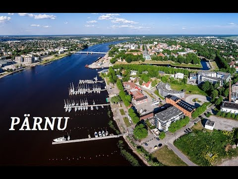 PÄRNU city  Estonia - overview video