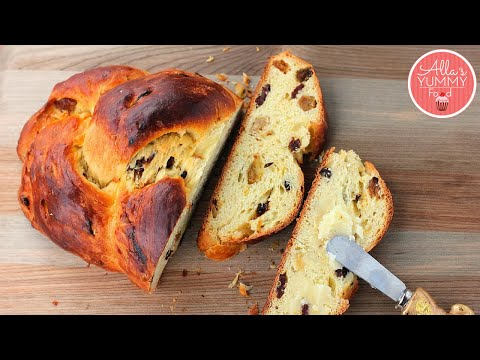 (Paska ) Sweet Easter Bread Recipe   Пасхальный хлеб