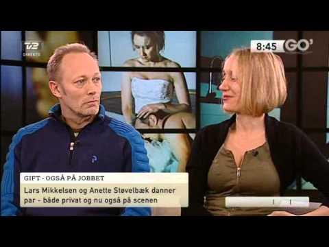 Lars Mikkelsen & Anette Støvelbæk  TV 2 GO'