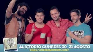 Los Claxons en Auditorio Cumbres (Agosto 2013)